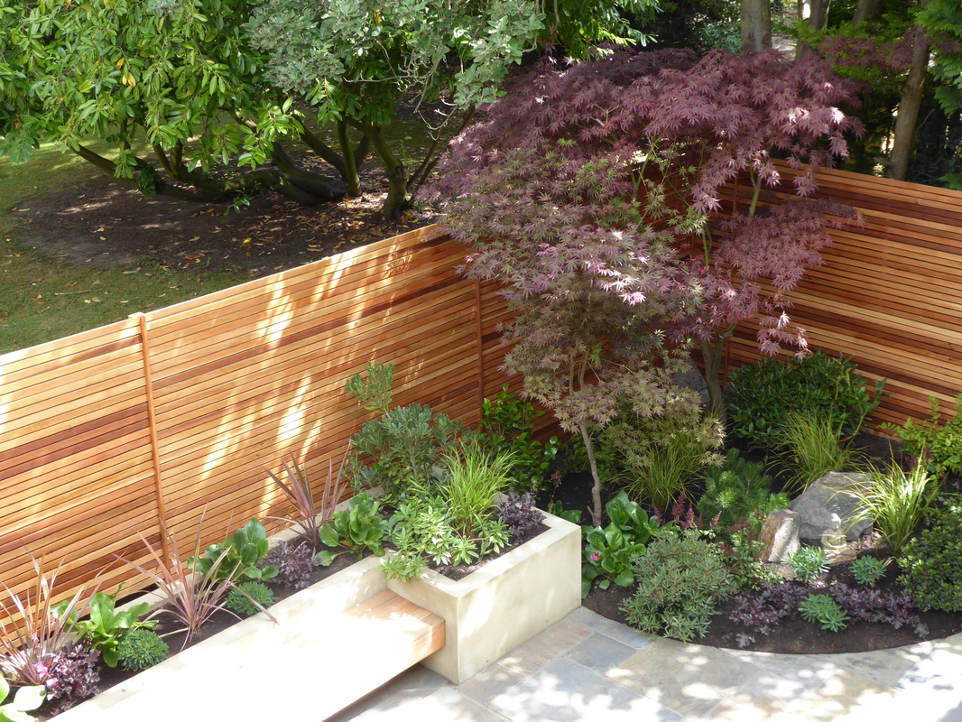 Genial New Cedar Fences Bring Warm Tones To The Garden And The Japanese Inspired  Planting Offers A ...